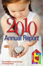 2010 Annual Report - The Children's Law Center