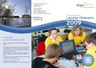 Lausitzer Förderpreis 2009 - Stiftung Lausitzer Braunkohle