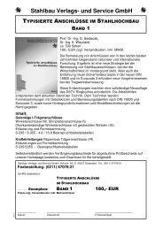 Info TA MIT Beispielseiten - Deutscher Stahlbau - Verband DSTV