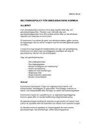 Belysningspolicy rev 090128 - Smedjebackens kommun