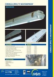 cordelia t5 series - Davis Lighting