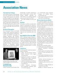 Association News - AAMT - Australian Association of Massage ...