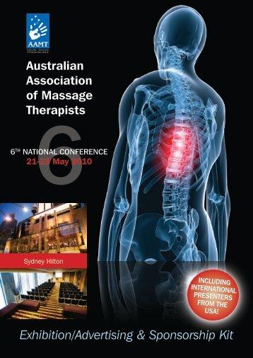 Exhibition/Advertising & Sponsorship Kit (pdf) - AAMT