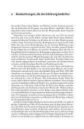 2 Beobachtungen, die der Erklärung bedürfen - Ernst Reinhardt Verlag