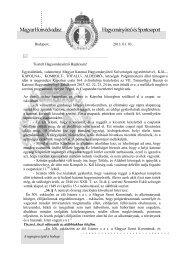 Újszerű levélsablon - Magyar Huszár