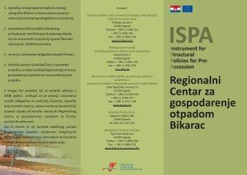 ISPA_Bikarac letak.pdf - Ministarstvo regionalnoga razvoja i fondova ...