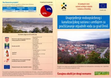 IPA IIIb_Drniš letak.pdf - Ministarstvo regionalnoga razvoja i fondova ...
