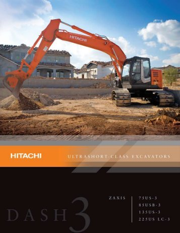 ZX75US-3 Features and Benefits Brochure - Hitachi
