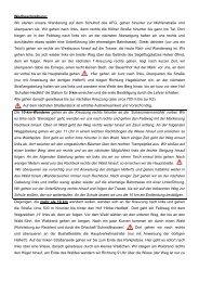 Die Wegbeschreibung für alle Routen (pdf)