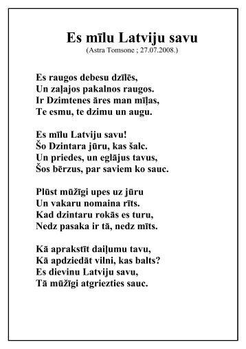 Astras Tomsones dzeja