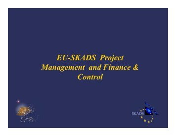 Financial reporting and controlling - skads