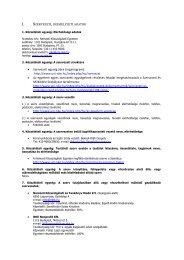 Közzétételi lista - Nemzeti Közszolgálati Egyetem