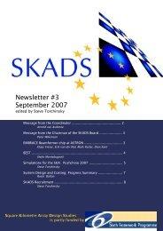 SKADS Newsletter #3