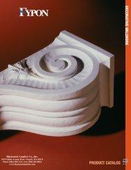 Fypon Decorative Millwork Catalog - Blackstock Lumber Co., Inc.
