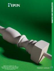 Fypon Balustrade Catalog - Blackstock Lumber Co., Inc.