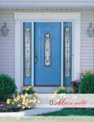 Masonite Steel Door Collection - Blackstock Lumber Co.