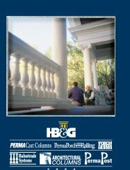 to download the HB & G Catalog in PDF format. - Blackstock Lumber ...