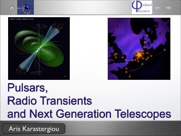 Pulsars, Radio Transients and Next Generation Telescopes