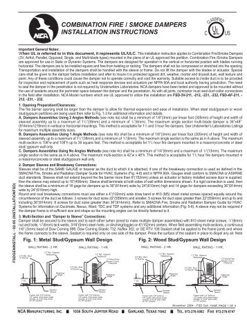 Notifier Nca Install Manual