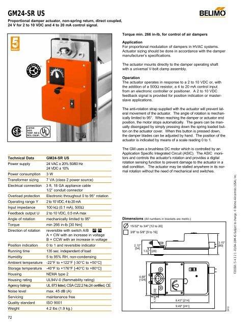 belimogm24sr  nca manufacturing