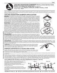 ceiling radiation damper application ceiling radiation dampers ...