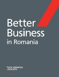 Better Business in Romania 2009 - AmCham