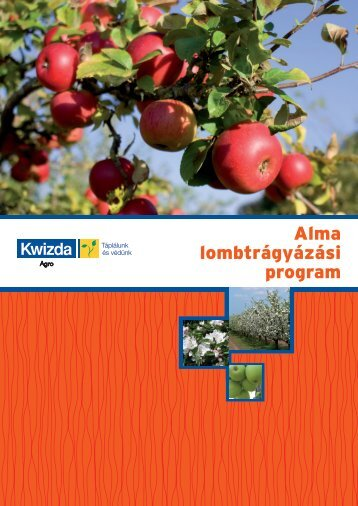 Alma lombtrágyázási program - Kwizda