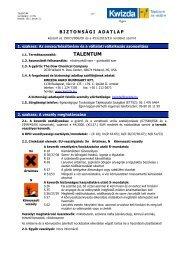 MSDS Talentum.pdf - Kwizda