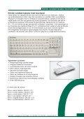 Klinisk vandtæt tastatur Klinisk vandtæt tastatur - GreenPro.com ... - Page 2