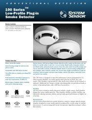 100 Series™ Low-Profile Plug-in Smoke Detector