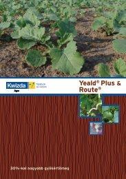 Yeald® Plus & Route® - Kwizda