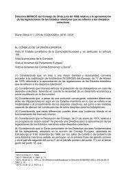 Directiva 98/59/CE del Consejo de 20 de julio de 1998 ... - secola