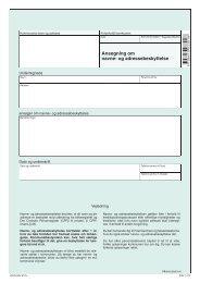 FR 115 - Ansøgning om navne- og adressebeskyttelse - klxml.dk