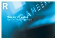 Planering och strategi inför en upphandling - Johan Stern 21 maj 2013