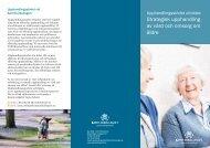 Strategisk upphandling av vård och omsorg om äldre