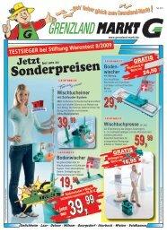 Sonderpreisen - Grenzland Markt