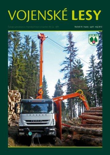 apríl - máj 2012 - Vojenské lesy a majetky SR, š.p.