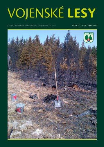 august 2012 - Vojenské lesy a majetky SR, š.p.