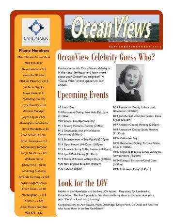 Upcoming Events Look For The LOV   Landmark Senior Living .