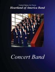 CB 2012 pubkit.indd - USAF Heartland of America Band