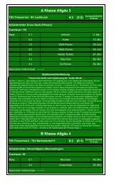 03. TSV Friesenried - SV Lechbruck 4:3