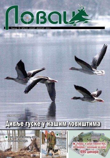 Lovac(Broj IX, januar-februar 2011) - Lovacki Savez Srbije