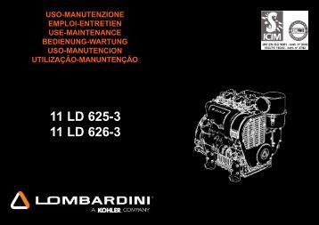 Uso e Manutenzione - lombardini service