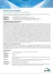 Produkt-Informationsblatt Maximus Long Fix Zero Bond - fairvesta ...