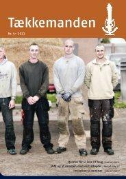 Tækkemanden 4/2011 - Dansk Tækkemandslaug