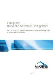 fairvesta Maximus Long Flex Bond - fairvesta Europe AG