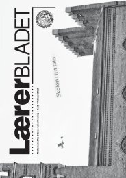 Medlemsblad fra Odense Lærerforening • Nr. 2 • Februar 2012