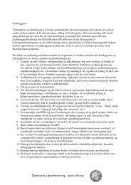 Forebyggelse I forlængelse af identifikat - Danmarks Lærerforening