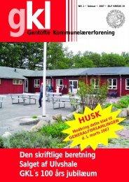 2007 nr.1 - Gentofte Kommunelærerforening