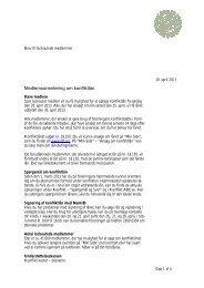 Medlemsbrev130419konliktlån - Danmarks Lærerforening